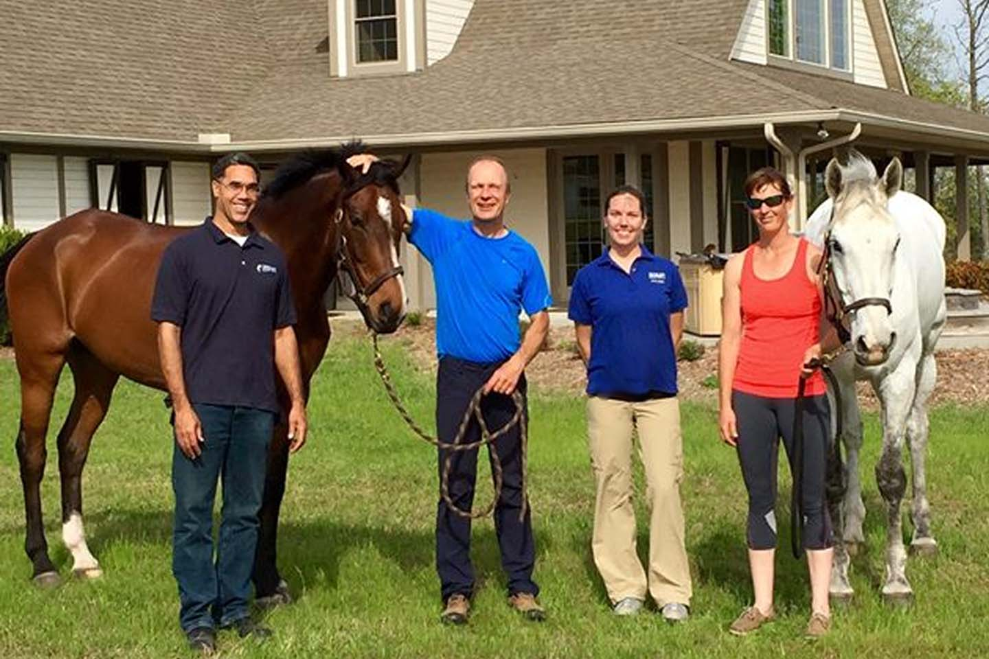 Equine physical therapy - Peter Barry And Team Olympic And 4 Event Rider Client Of Results Equine Therapy